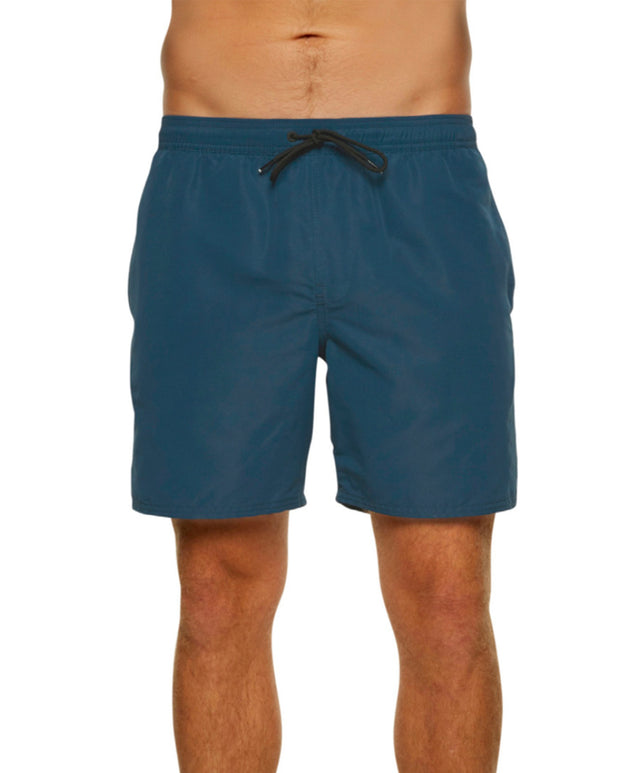 Jacks Base Lined Elastic Boardshort - Mid Blue