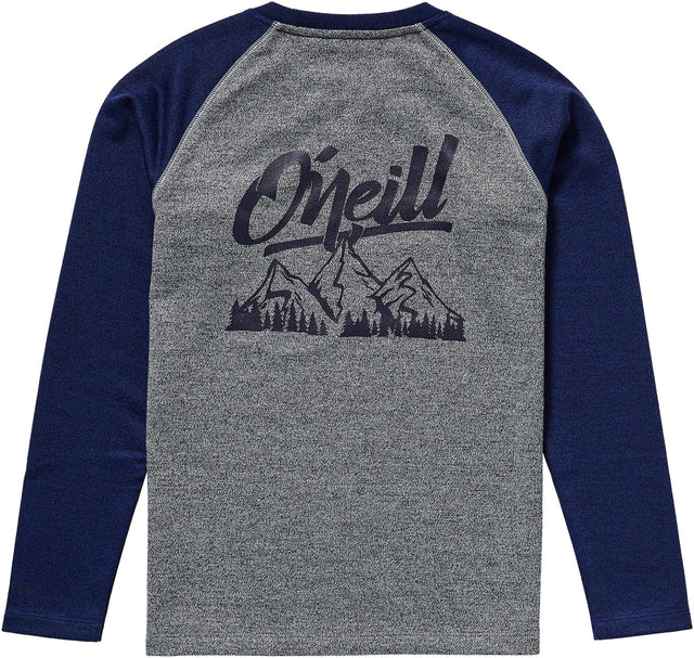 Crew Fleece Boys - Surf Blue