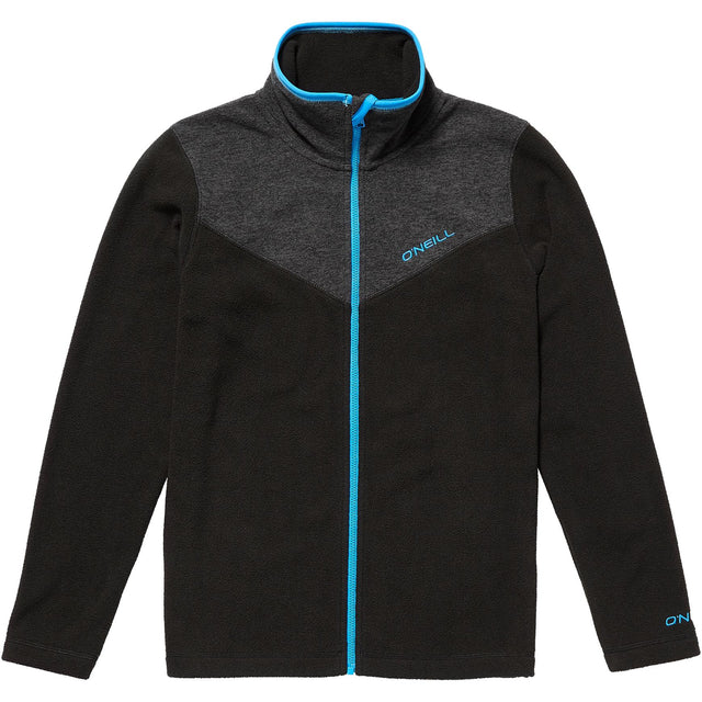 Rails Full Zip Fleece Boys - Black Out