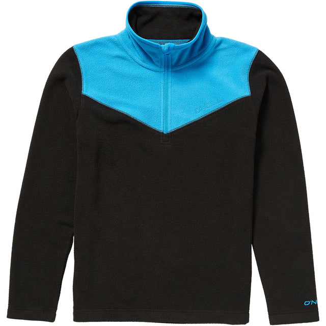 Rails Half Zip Fleece Boys - Black Out