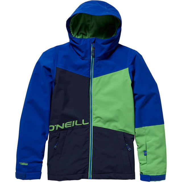 Statement Boys Snow Jacket - Surf Blue