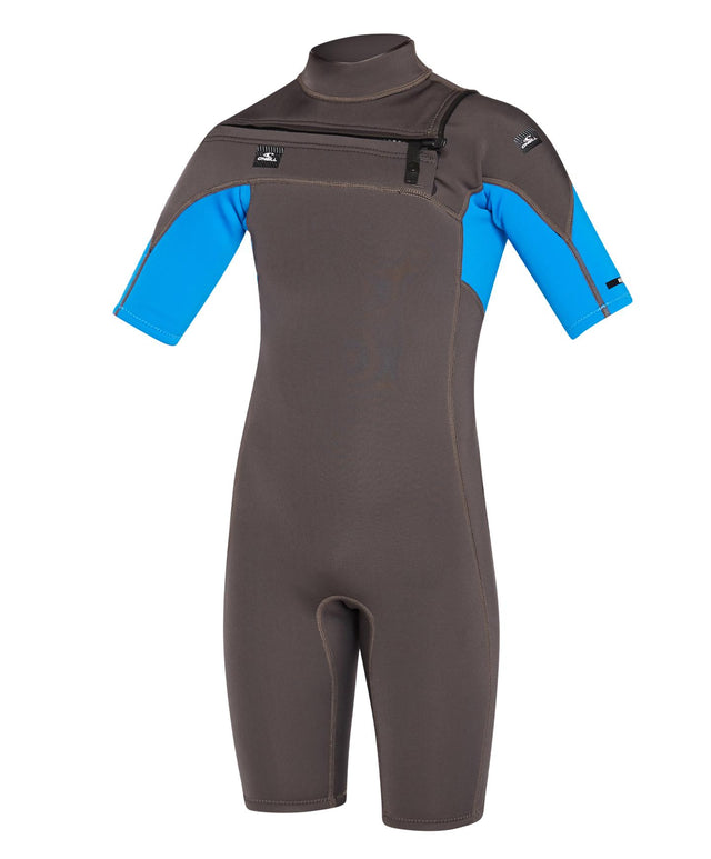Kids Defender Fuze Short Arm Spring Suit 2mm Wetsuit - Midnight Oil Ocean
