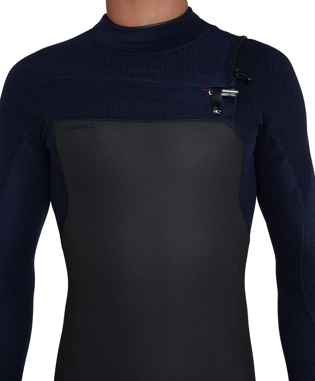 Blueprint 3/2+ Steamer Chest Zip Wetsuit - Black/Abyss
