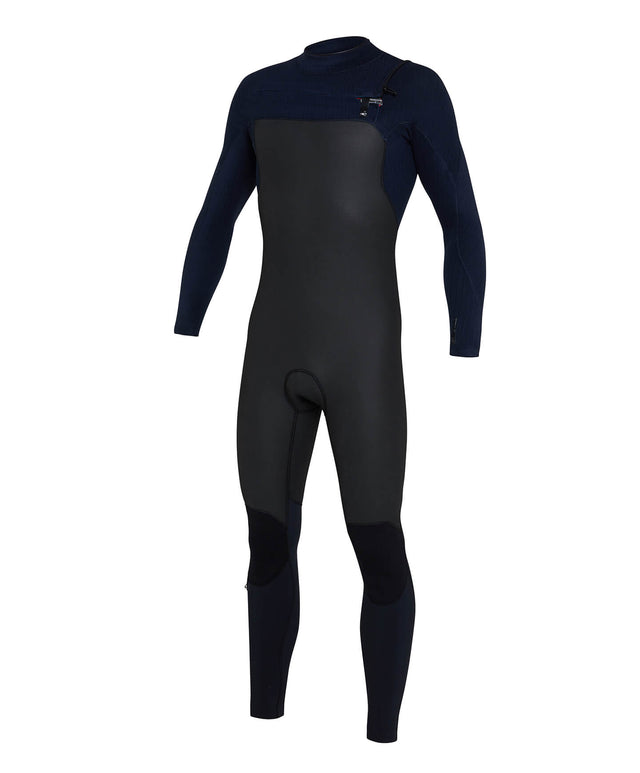 Blueprint 4/3+ Steamer Chest Zip Wetsuit - Black/Abyss