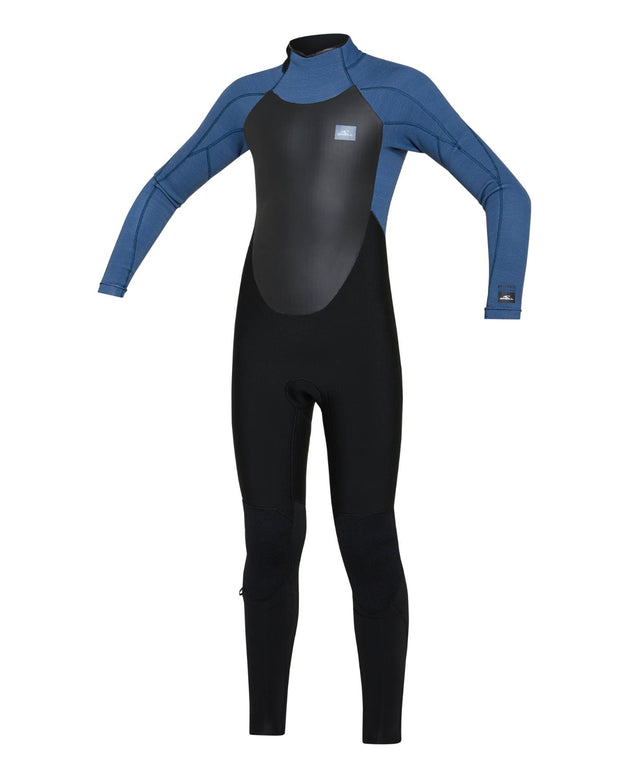 Kids Defender 3/2mm Steamer Back Zip Wetsuit - Black Art