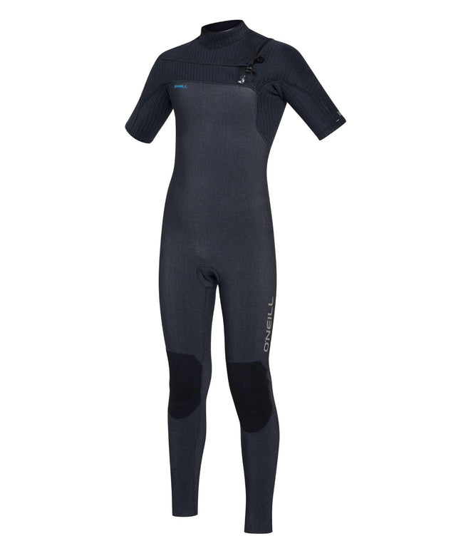 Kids Hyperfreak 2mm Short Arm Steamer Chest Zip Wetsuit - Acid Wash
