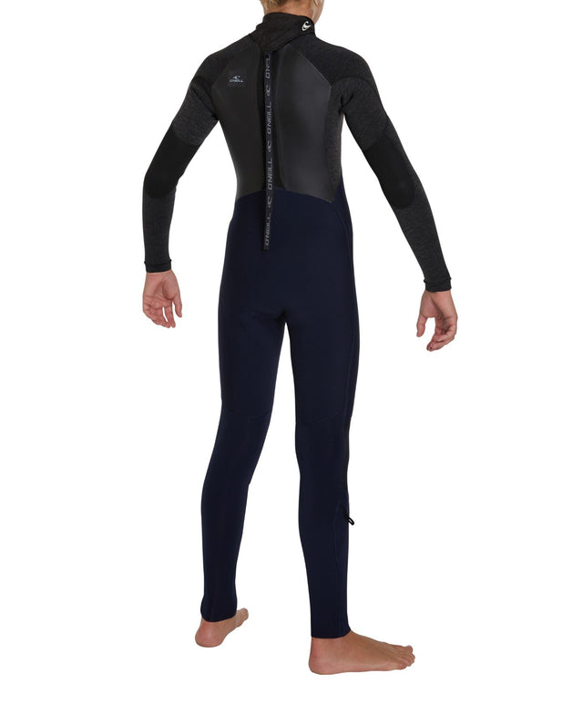 Defender 3/2mm Kids Steamer Back Zip Wetsuit - Abyss