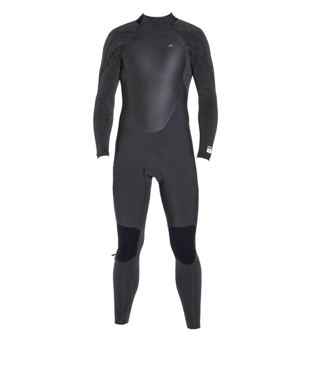 Defender 4/3mm Kids Steamer Back Zip Wetsuit - Raven