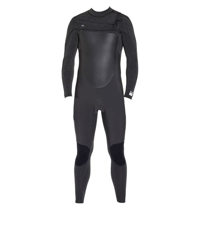 Defender 3/2mm Kids Steamer Chest Zip Wetsuit - Raven