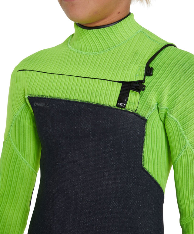 Hyperfreak Chest Zip 3/2+ Youth Steamer Wetsuit - Acid Wash