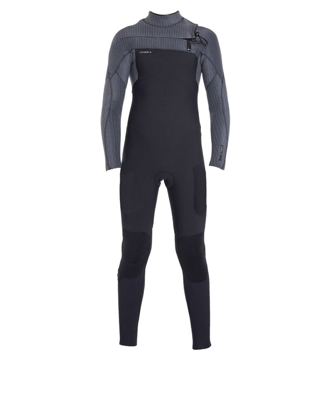 Hyperfreak 3/2+ Youth Steamer Chest Zip Wetsuit - Black Graphite