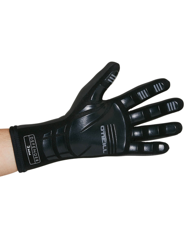 Defender 3mm Wetsuit Glove - Black