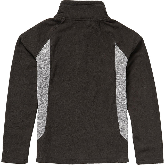 Slope Half Zip Fleece Girls - Black Out
