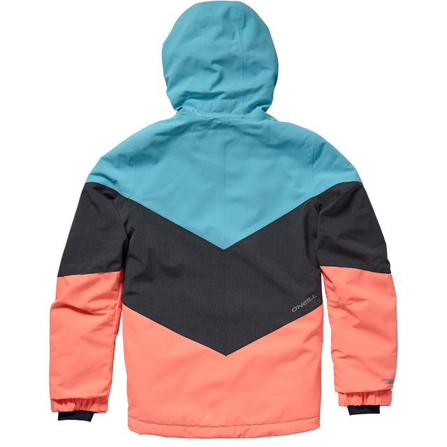 Coral Girls Snow Jacket - Island Blue