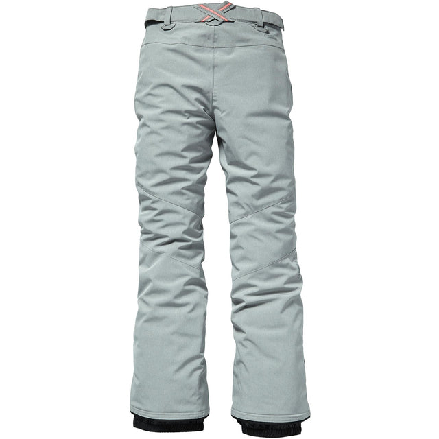 Charm Girls Snow Slim Pant - Silver Melee