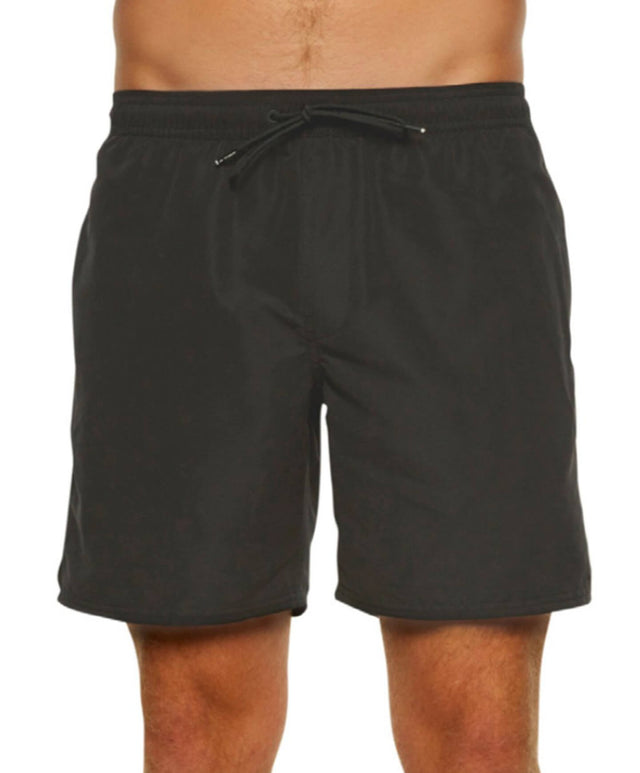 Jacks Base Lined Elastic Boardshort - Black Out
