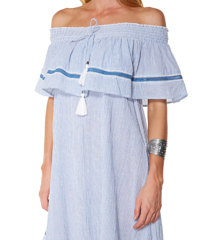 Mantra Dress - Dst Denim Stripe