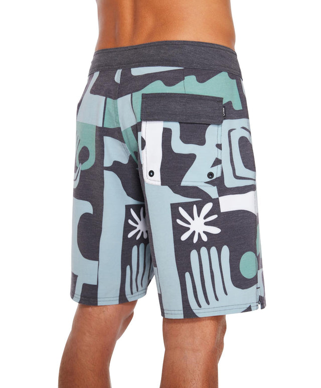 Meriday Boardshort - Black Multi