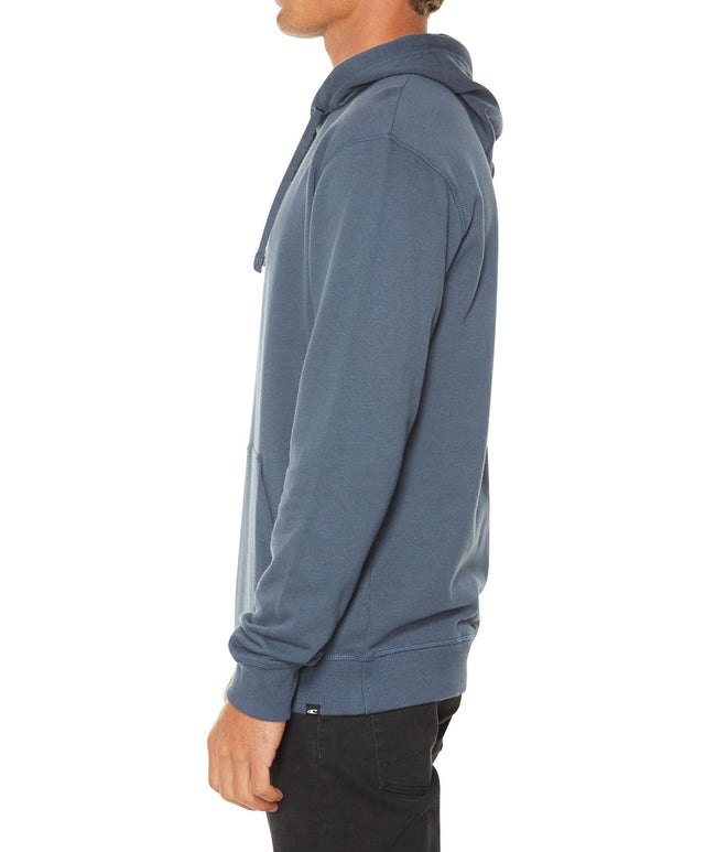 Jacks Base Pop Fleece Hoodie - Blue Slate