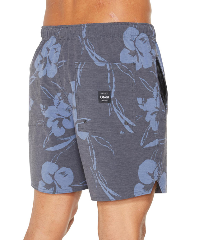Strangedays Switch Slacker Boardshorts - Black Floral