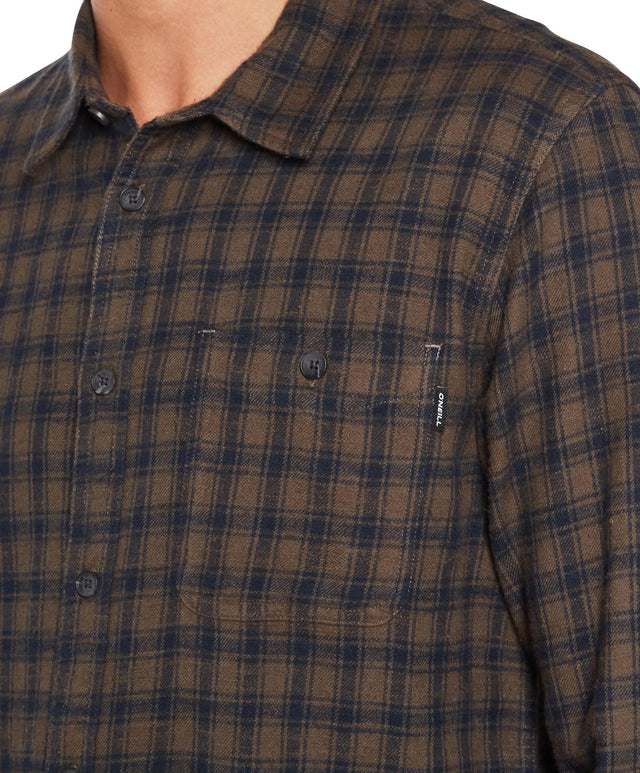 Glenwood Flannel Shirt - Dark Army