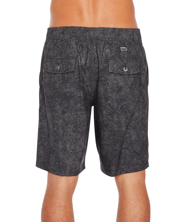 Brisbane Hybrid Walk Short - Black