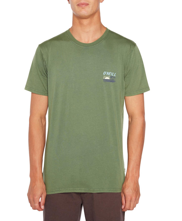 Always Summer T-Shirt - Dill Green