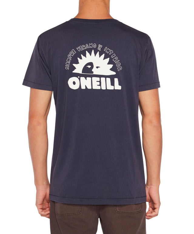 De La Sol T-Shirt - Washed Navy