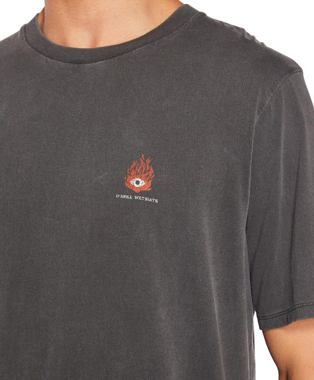Hot Heat T-Shirt - Vintage Black