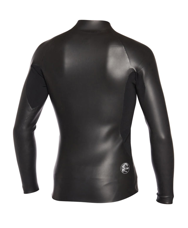 ORiginal Zip Through Wetsuit Jacket - Black