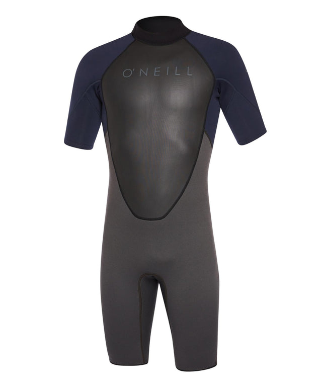 Reactor II 2mm Short Arm Spring Suit - Midnight Oil Abyss