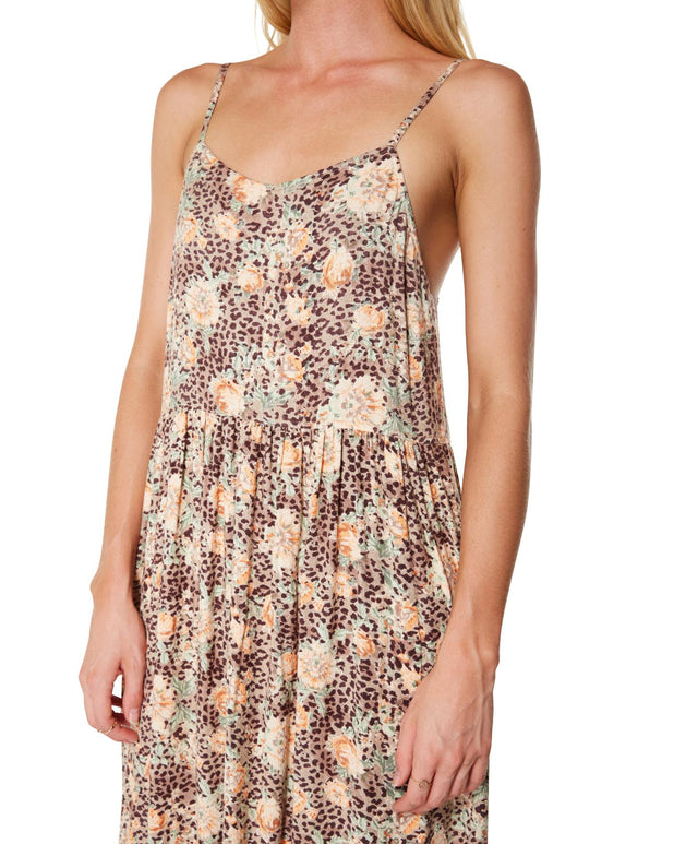 Akona Dress - Ldf Leopard Floral