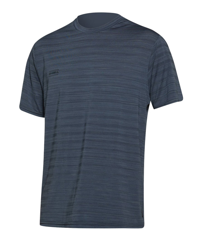 24-7 Tech Surf Rashie Tee - Graphite