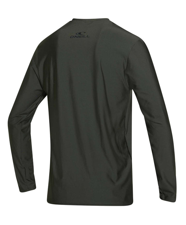 Basic Skins Long Sleeve Rashie Tee - Dark Olive