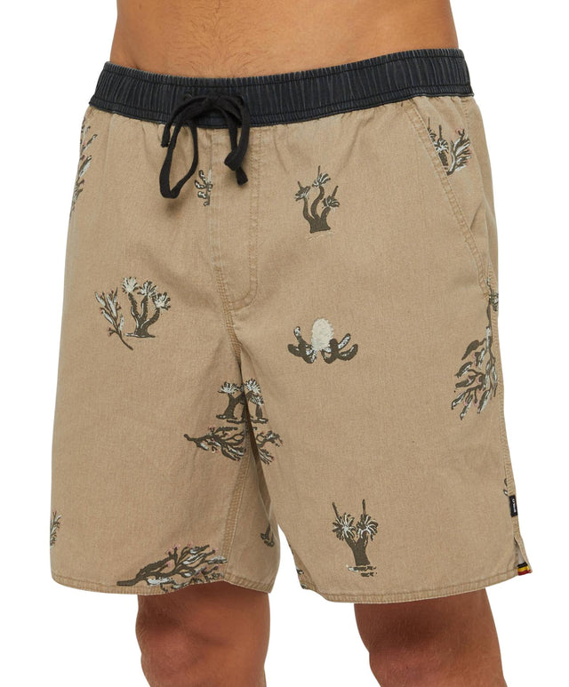 Bailey Slacker Shorts - Eucalyptus