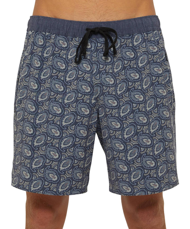Garcia Switch Slacker Shorts - Paisley Black