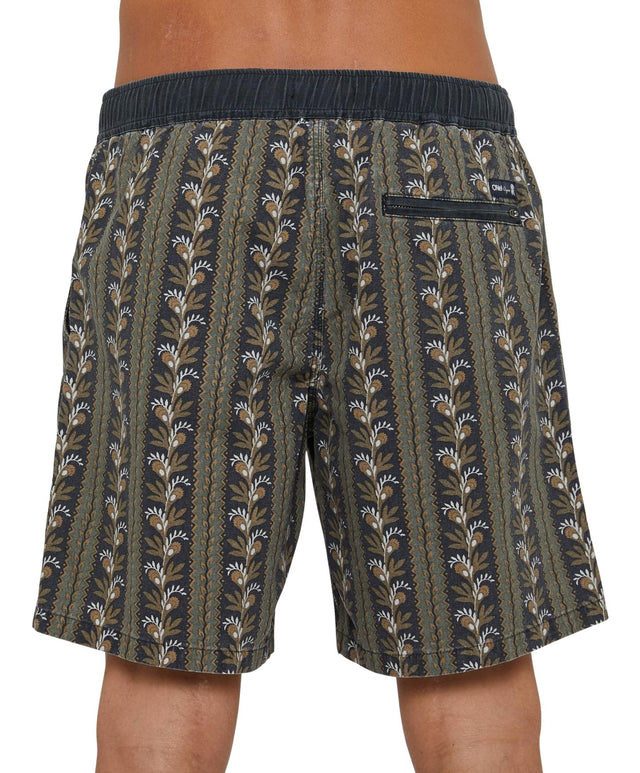 Homegrown Slacker Shorts - Black