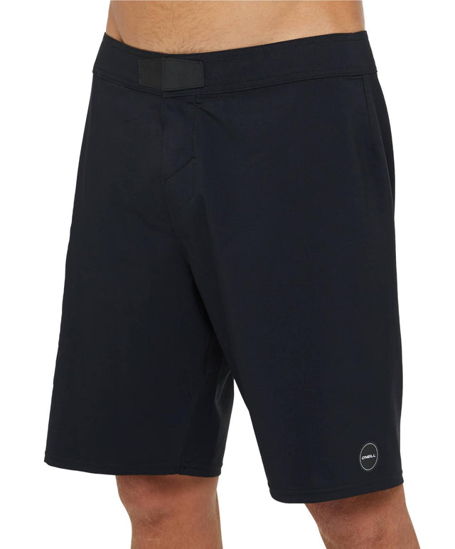 Hyperfreak No Tie Boardshort - Black