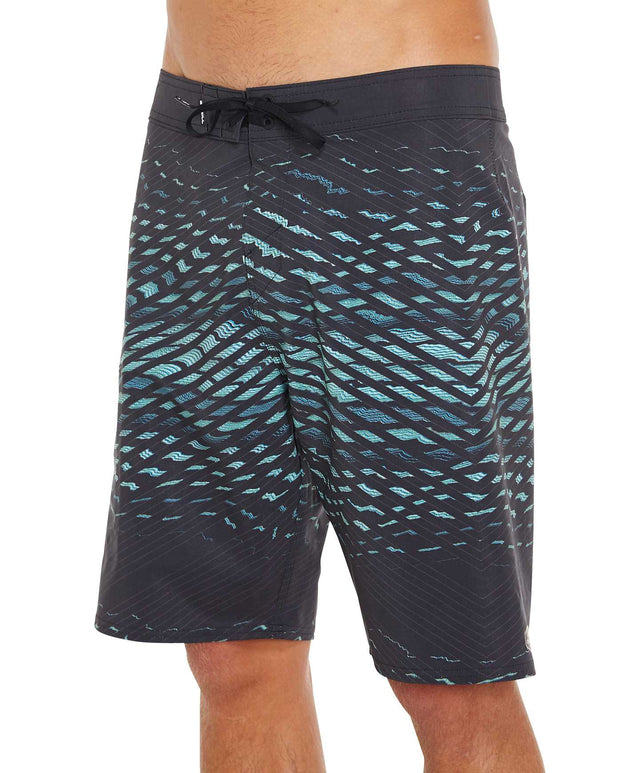 Hyperfreak Shatter Boardshort - Black Multi