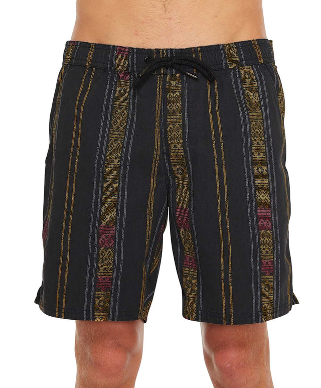 Muchacha Slacker Shorts - Black Multi
