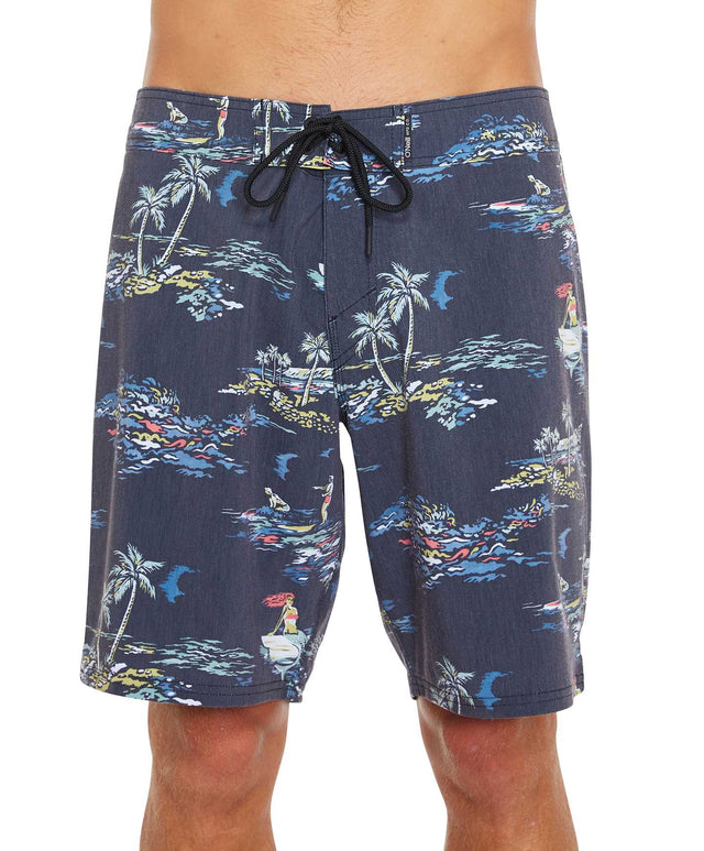 Puerto Boardshort - Black Multi