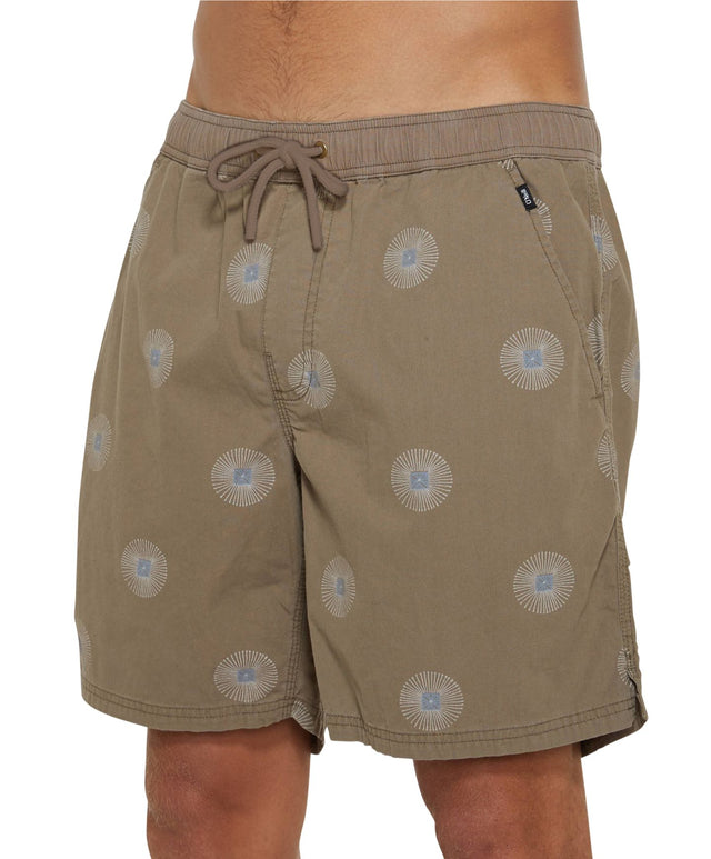 Cosmic Slacker Shorts - Khaki