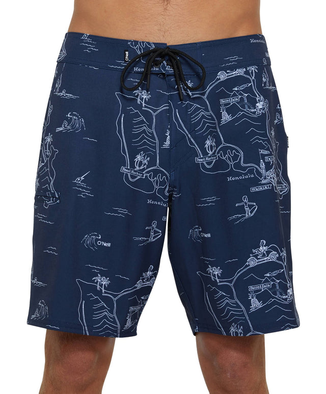 Da Rock Boardshort - Navy