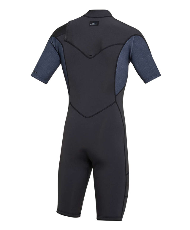 Defender 2mm Spring Suit Chest Zip Wetsuit - Raven / Acidwash