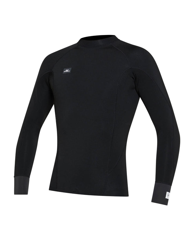 Defender 1mm Long Sleeve Revo Wetsuit Jacket - Black Raven