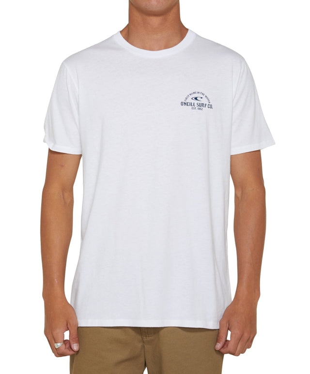 Grandstand T-Shirt - Super White
