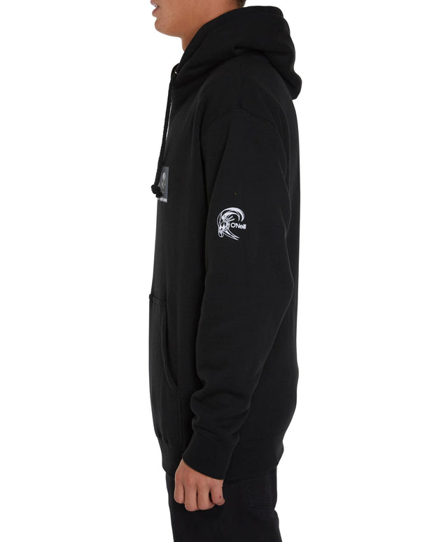 Chris Christenson Fade Pullover Hoodie - Black
