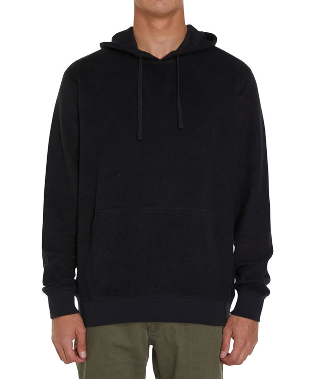 Jacks Base Fleece Hoodie - Black Out