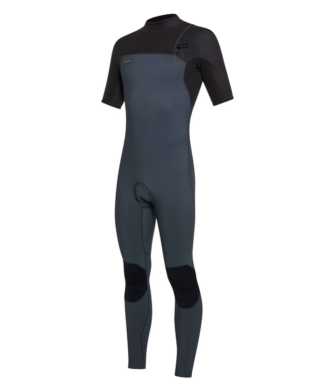 Hyperfreak Comp 2mm Short Arm Steamer Wetsuit - Graphite