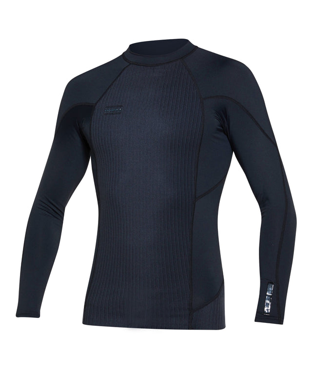 Hyperfreak TB3X Neo/Lycra Long Sleeve Wetsuit Jacket - Black